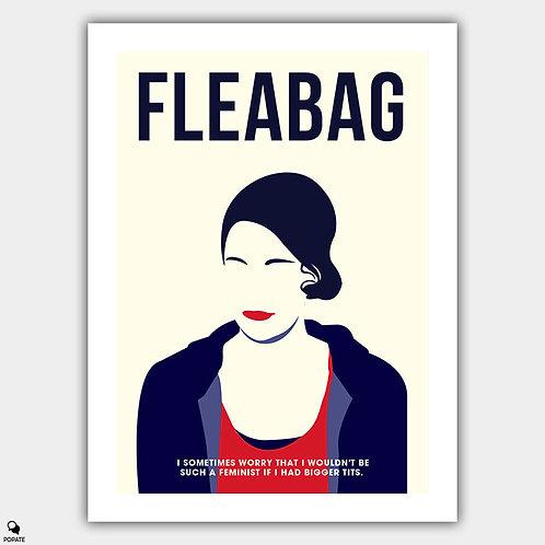 Fleabag Minimalist Poster - Feminist