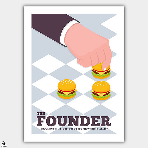 The Founder Minimalist Poster - Strategy