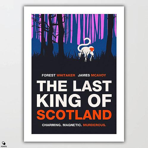 The Last King Of Scotland Alternative Minimalist Poster