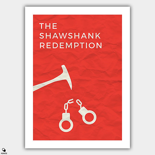 The Shawshank Redemption Minimalist Poster