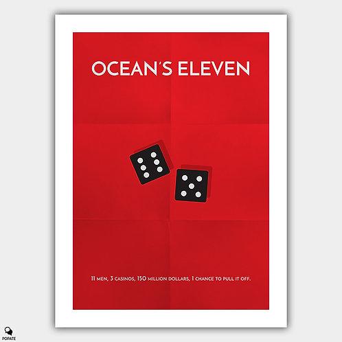 Ocean's Eleven Minimalist Poster