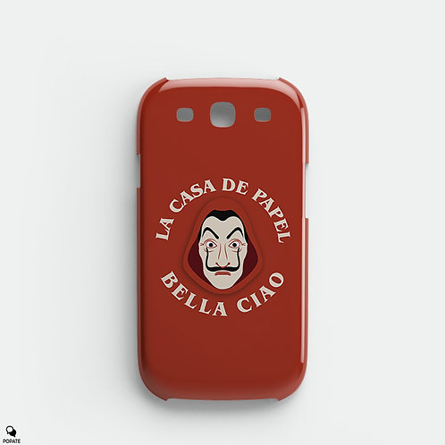 Bella Ciao Alternative Galaxy Phone Case from La Casa De Papel