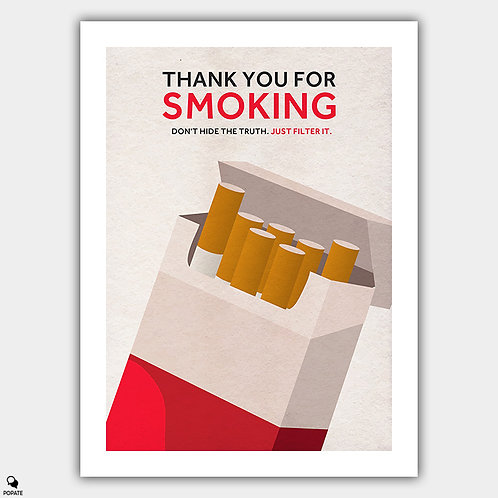 Thank You For Smoking Alternative Poster
