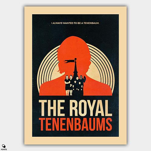The Royal Tenenbaums Vintage Alternative Poster