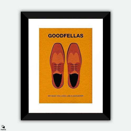 Goodfellas Minimalist Framed Print - You Look Like A Gangster