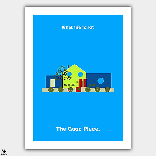 The Good Place Minimalist Poster