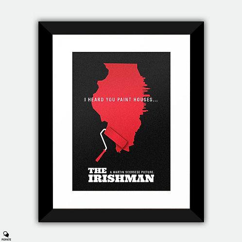 The Irishman Alternative Framed Print - Paint houses