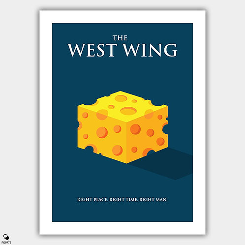 The West Wing Minimalist Poster
