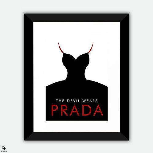 The Devil Wears Prada Framed Print - Minimalist #2