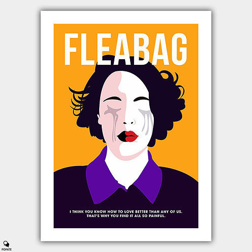 Fleabag Minimalist Poster - How to Love