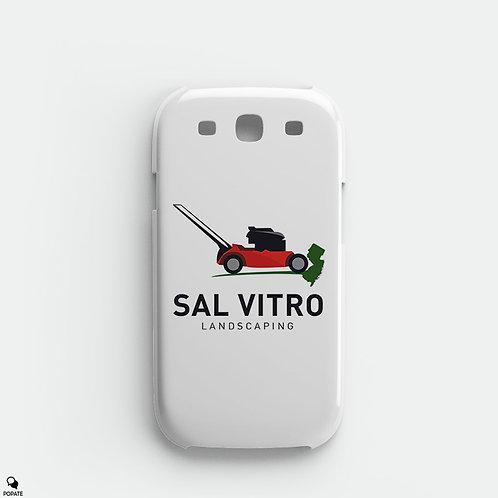 Sal Vitro Landscaping Galaxy Phone Case from The Sopranos