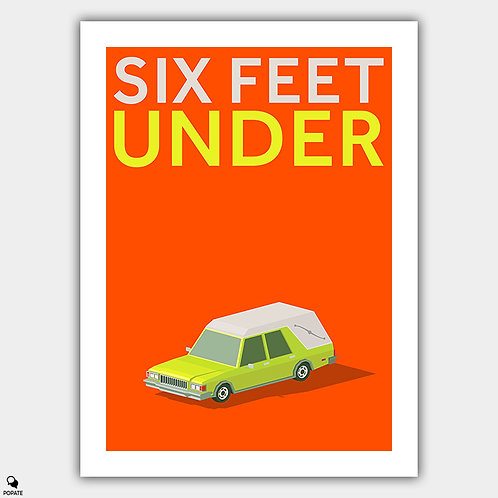 Six Feet Under Minimalist Poster