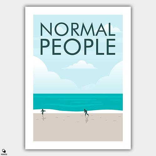 Normal People Minimalist Poster - Beach