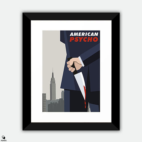 American Psycho Alternative Framed Print - No Catharsis