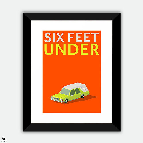 Six Feet Under Minimalist Framed Print