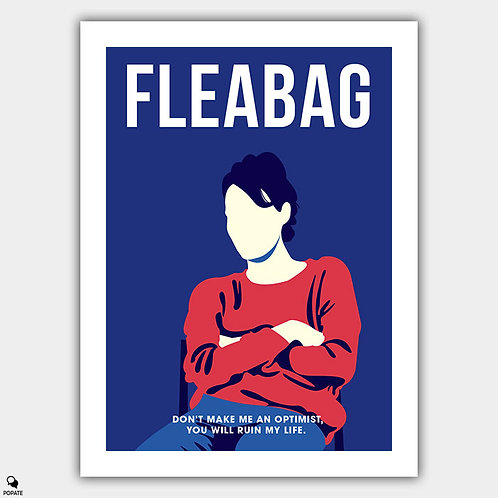 Fleabag Minimalist Poster - Stage