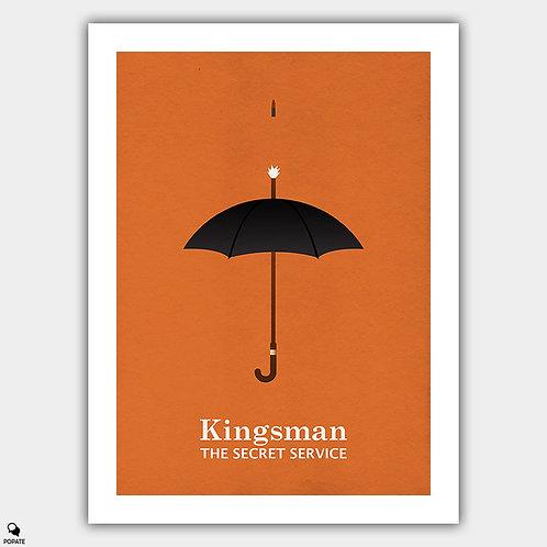 Kingsman: The Secret Service Minimalist Poster - Kingsman Umbrella