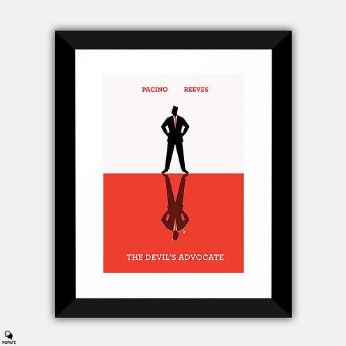 The Devil's Advocate Minimalist Framed Print