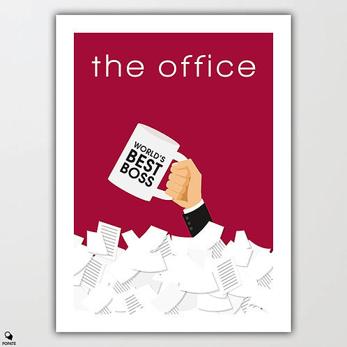 The Office Minimalist Poster