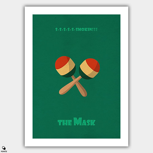 The Mask Minimalist Poster