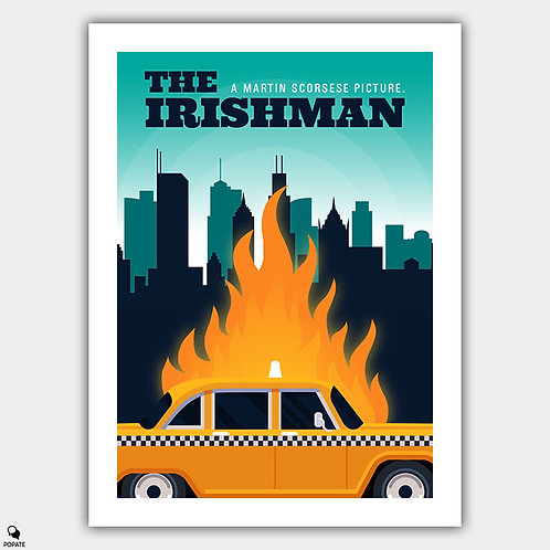 The Irishman Alternative Poster - Chicago