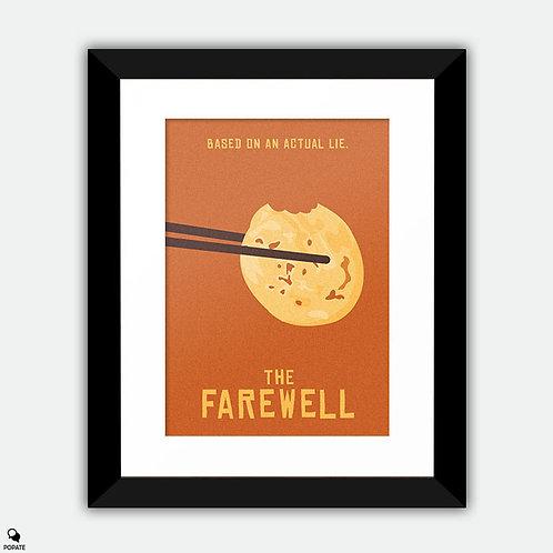 The Farewell Minimalist Framed Print