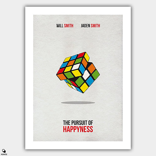 The Pursuit of Happyness Minimalist Poster