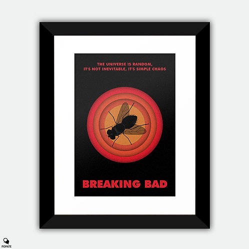 Breaking Bad Minimalist Framed Print - Fly