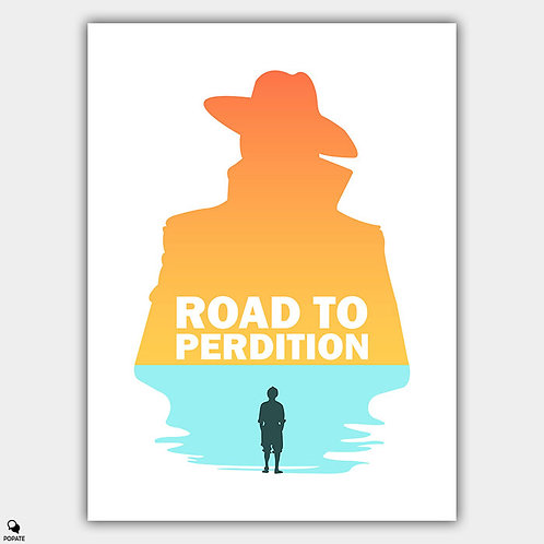 Road to Perdition Minimalist Poster