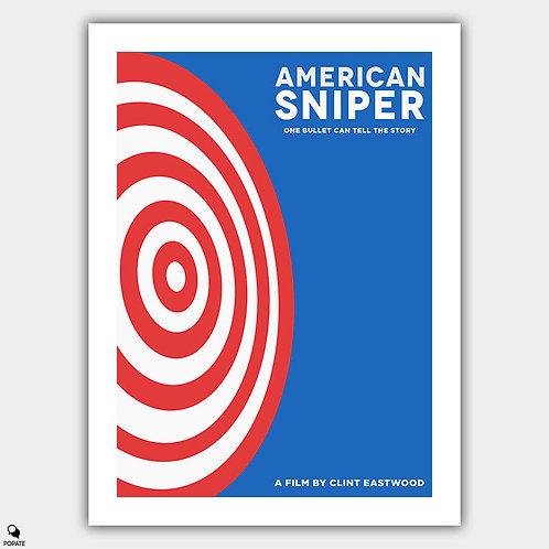 American Sniper Minimalist Poster - Target
