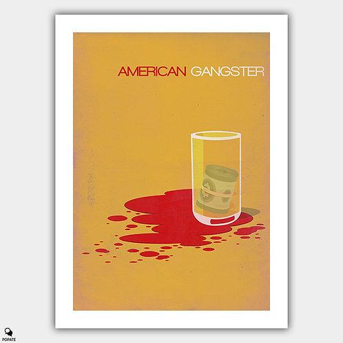 American Gangster Minimalist Poster