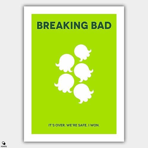 Breaking Bad Minimalist Poster - Lily of the Valley
