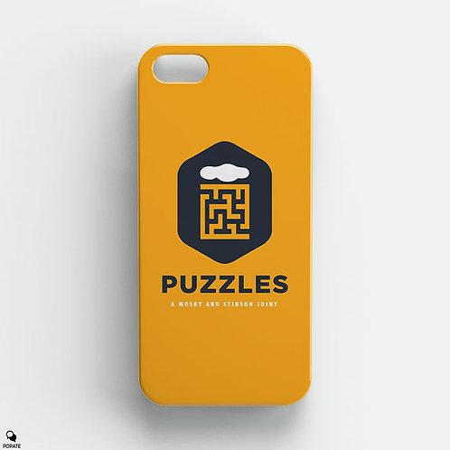 Puzzles Bar Alternative iPhone Case from How I Met Your Mother