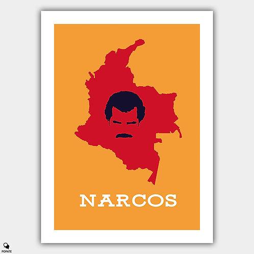 Narcos Minimalist Poster - Pablo Escobar