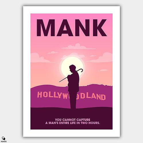 Mank Minimalist Poster