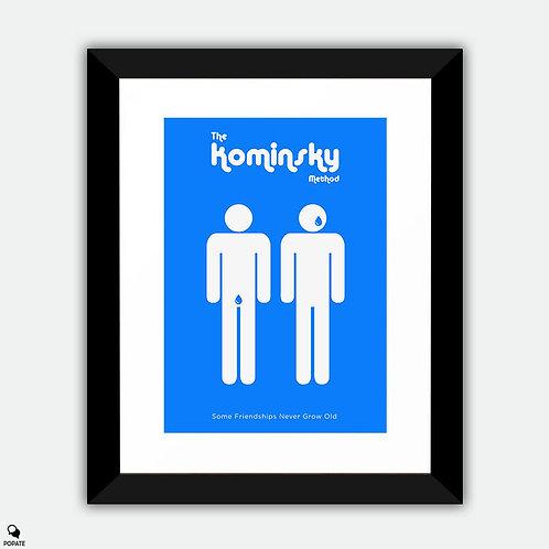 The Kominsky Method Minimalist Framed Print - Prostate and Tears