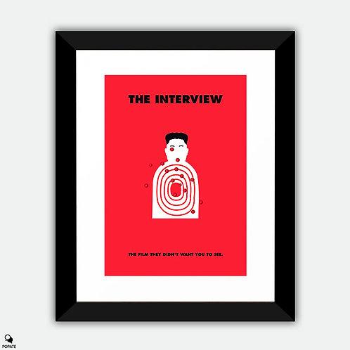 The Interview Alternative Framed Print