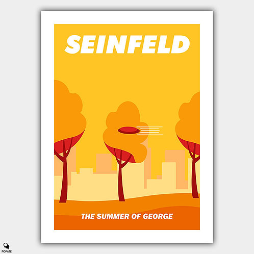 Seinfeld Minimalist Poster - The Summer of George