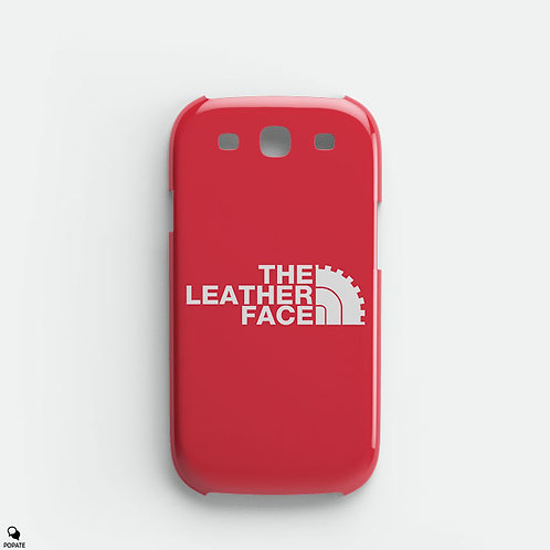 The Leather Face Galaxy Phone Case from The Texas Chainsaw Massacre