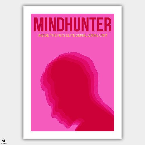 Mindhunter Minimalist Poster - Cerebral