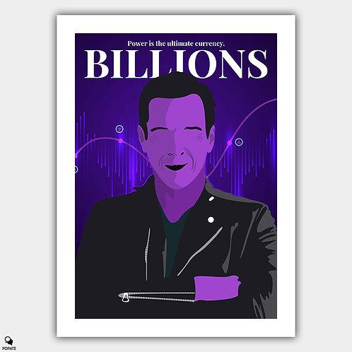 Billions Minimalist Poster - Axelrod