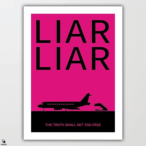 Liar Liar Minimalist Poster
