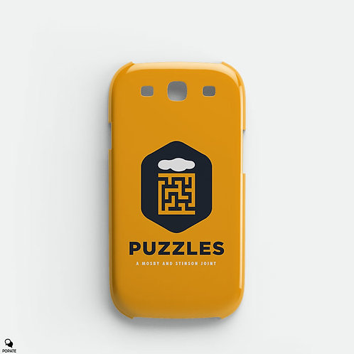 Puzzles Bar Alternative Galaxy Phone Case from How I Met Your Mother