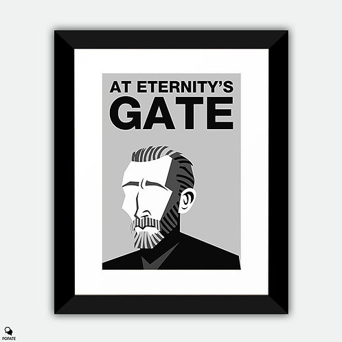 At Eternity's Gate Minimalist Framed Print