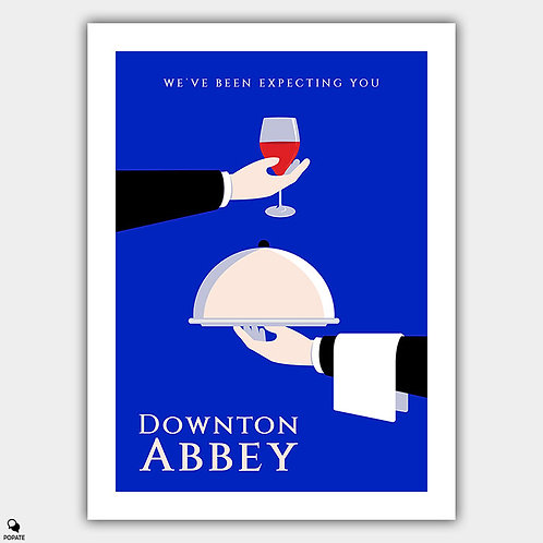 Downton Abbey Minimalist Poster
