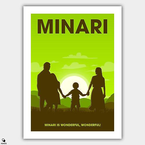 Minari Minimalist Poster
