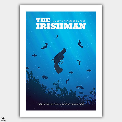 The Irishman Alternative Poster - This History