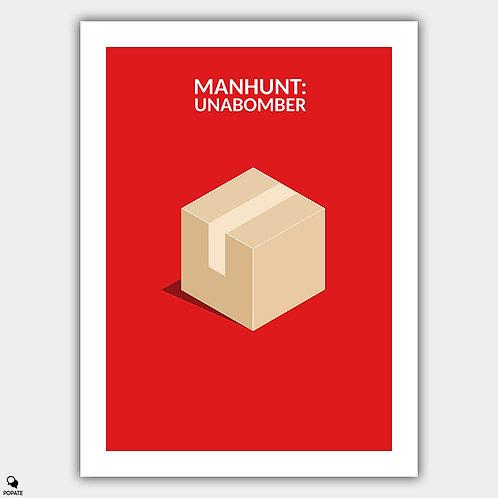 Manhunt: Unabomber Minimalist Poster