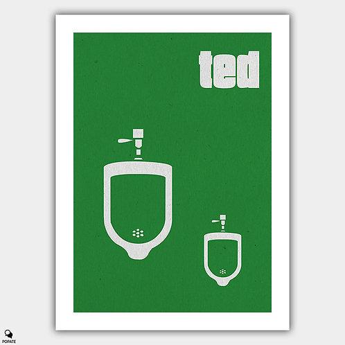 Ted Minimalist Poster