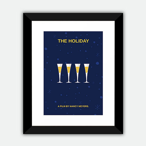 The Holiday Minimalist Framed Print